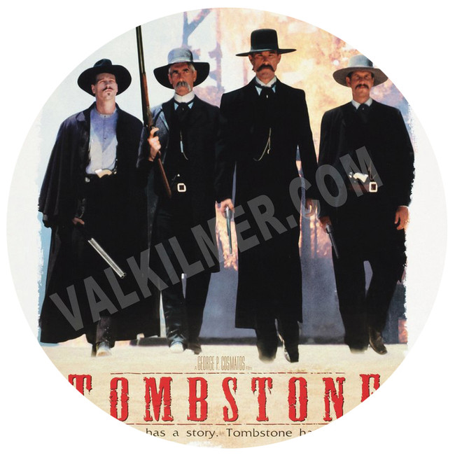 """Tombstone"" Movie Poster 13"" x 119"""