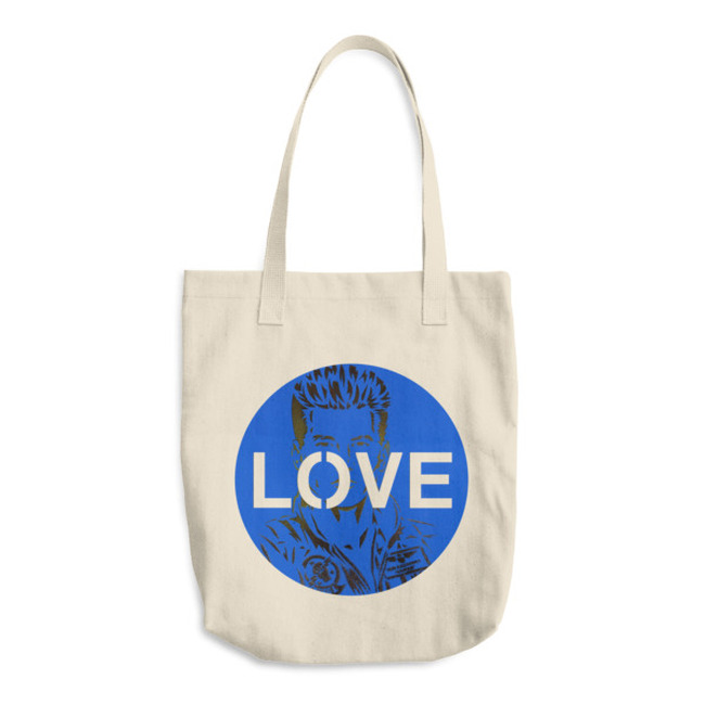 Love Iceman / Cotton Tote Bag