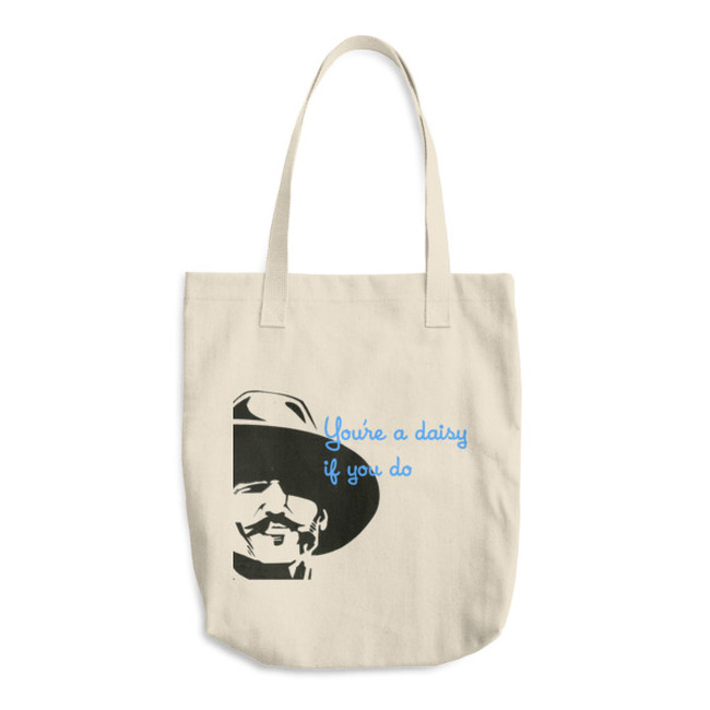 "Doc 'Daisy"" / Cotton Tote Bag"