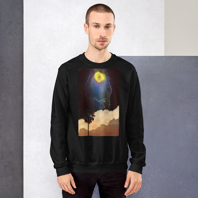 Midnight Palm Sweatshirt