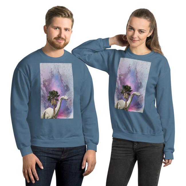 Shy Dino Sweatshirt