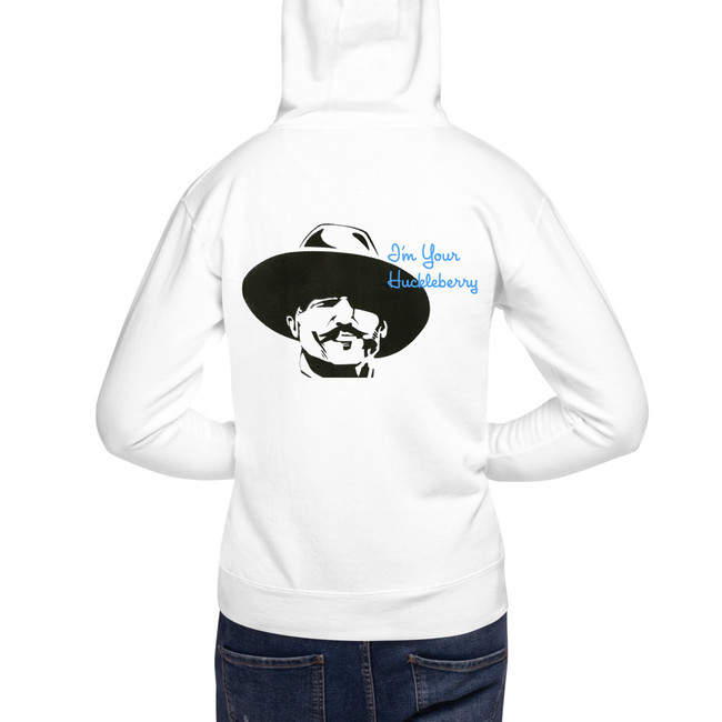'I'm Your Huckleberry' Unisex Hoodie