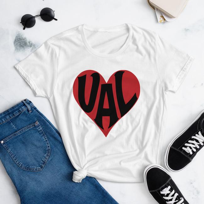 VALentine's women's short sleeve t-shirt