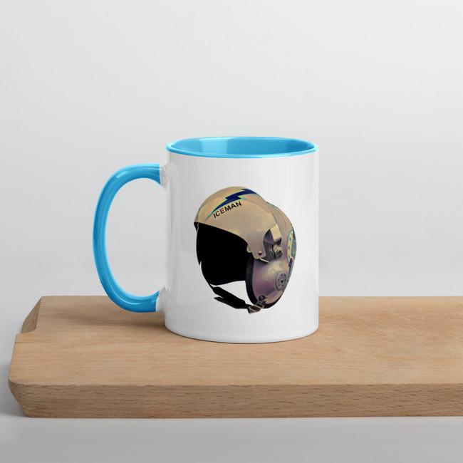 Iceman Helmet mug