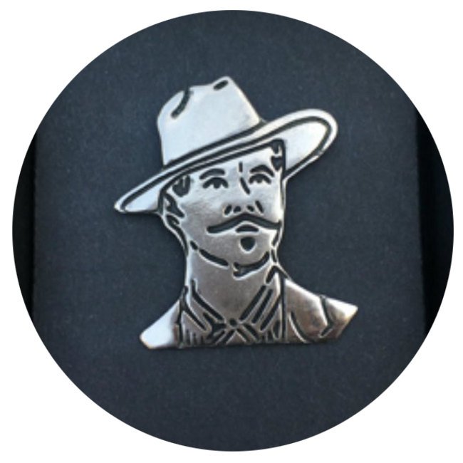 """""""Tombstone"""" Doc Holliday Pin"""
