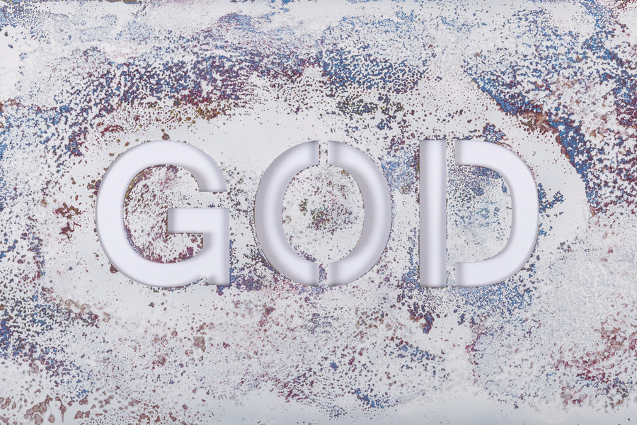 Print - God 17