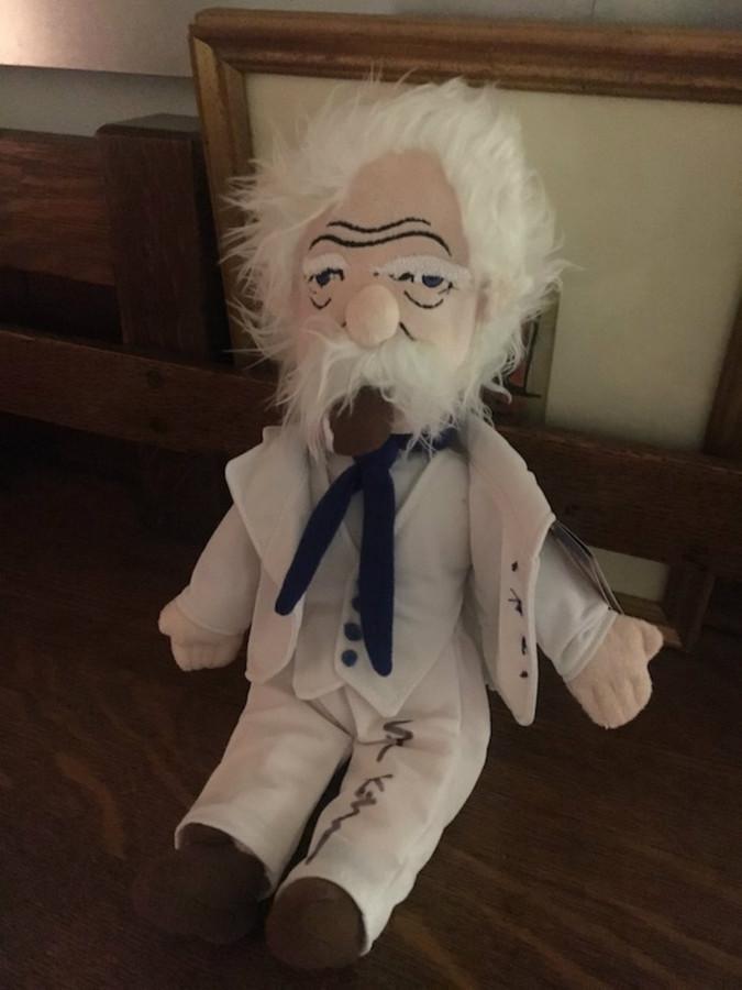 Autographed Mark Twain Doll