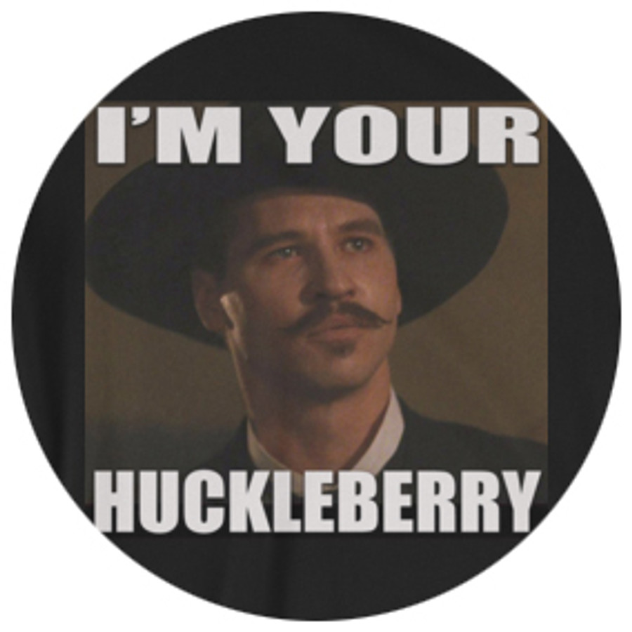 "Doc Holliday ""I'm Your Huckleberry"" Photo T-Shirt"