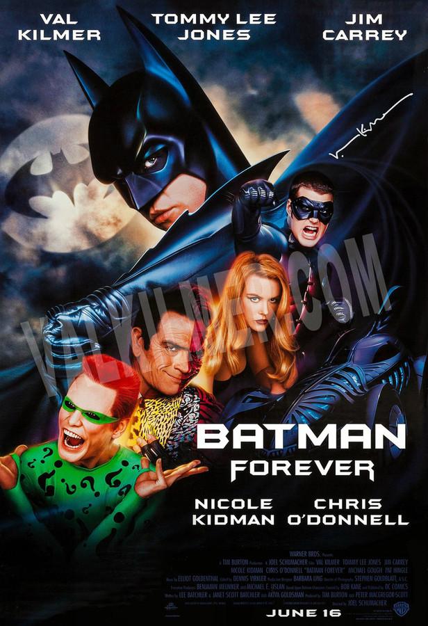 """Batman Forever"" Movie Poster  13"" x 19"""