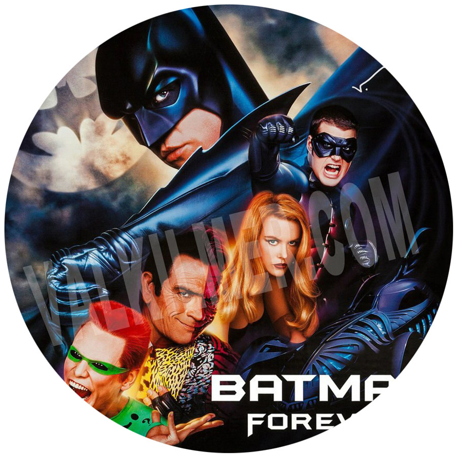 """Batman Forever"" Movie Poster  13"" x 19"""