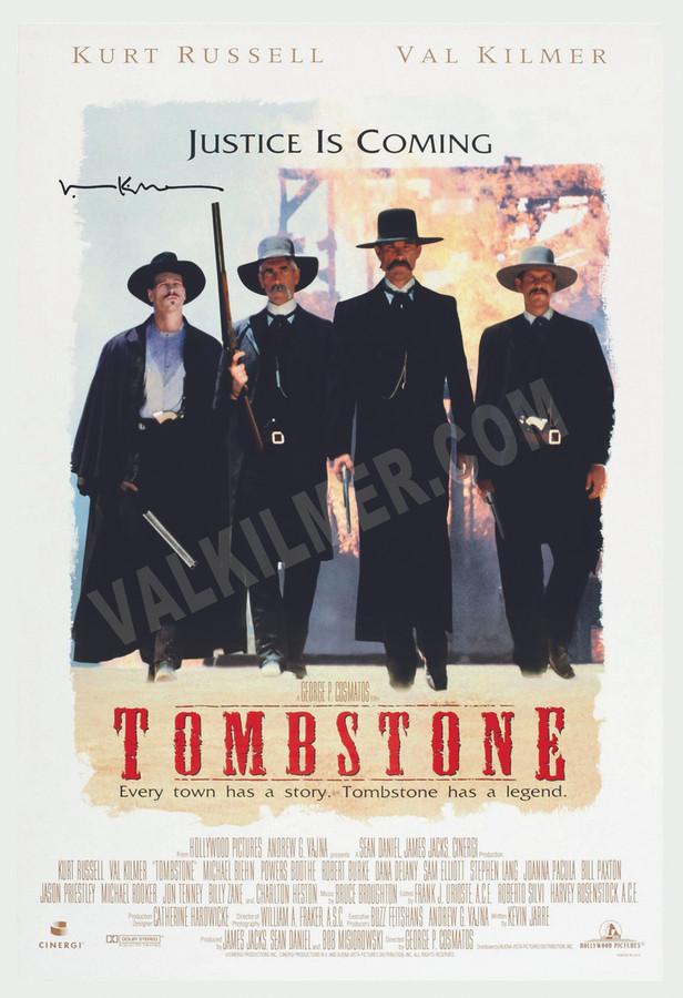 """Tombstone"" Movie Poster 13"" x 19"""