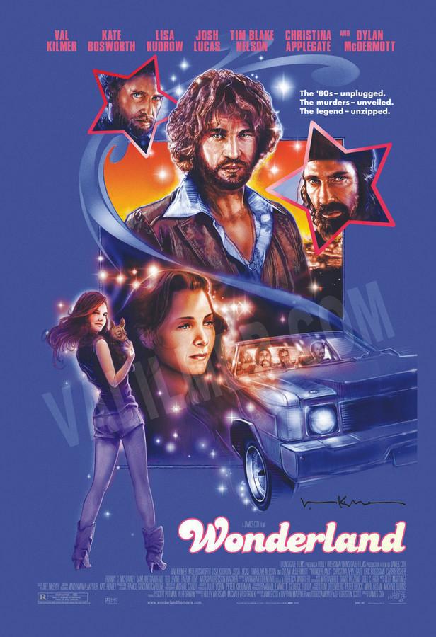 """""""Wonderland"""" Movie Poster 13"""" x 19"""""""