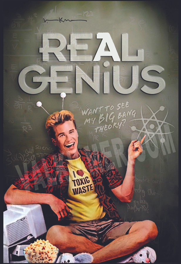 """Real Genius"" Movie Poster 13"" x 19"""