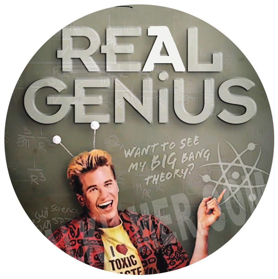 """Real Genius"" Movie Poster 13"" x 19"""