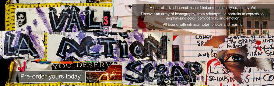 Val's LA Action Scrapbook