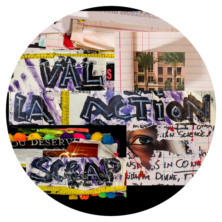 Val's LA Action Scrapbook
