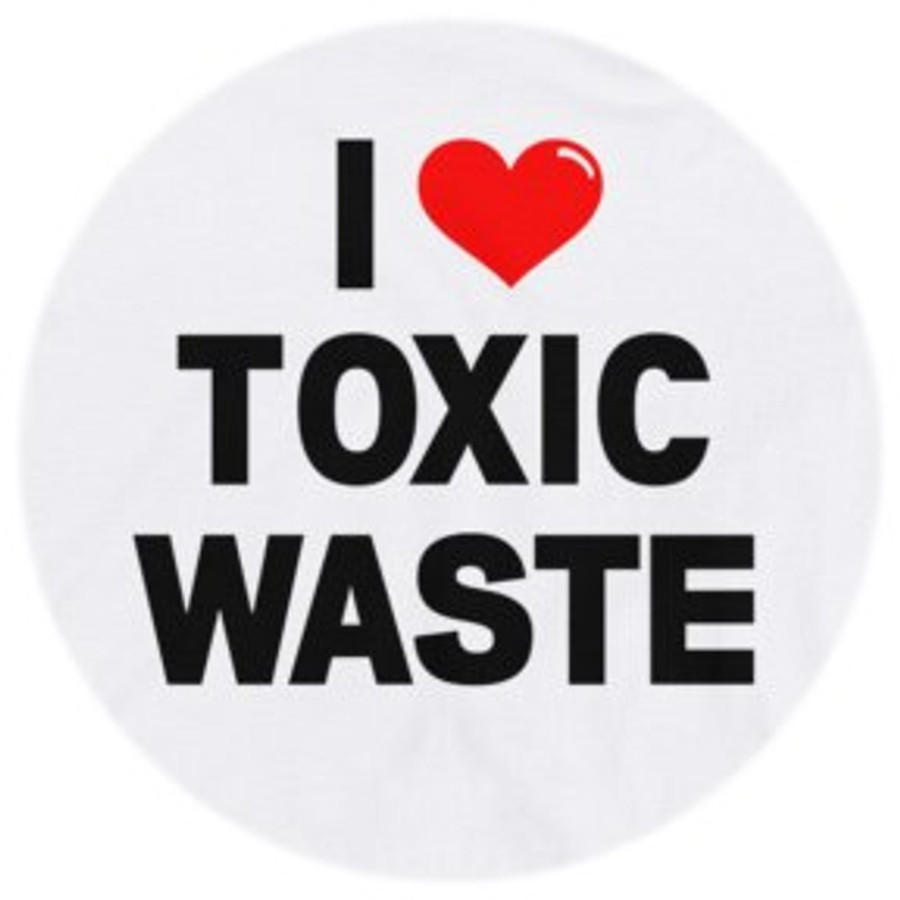 "Real Genius ""I Love Toxic Waste"" Retro Ringer T-Shirt"