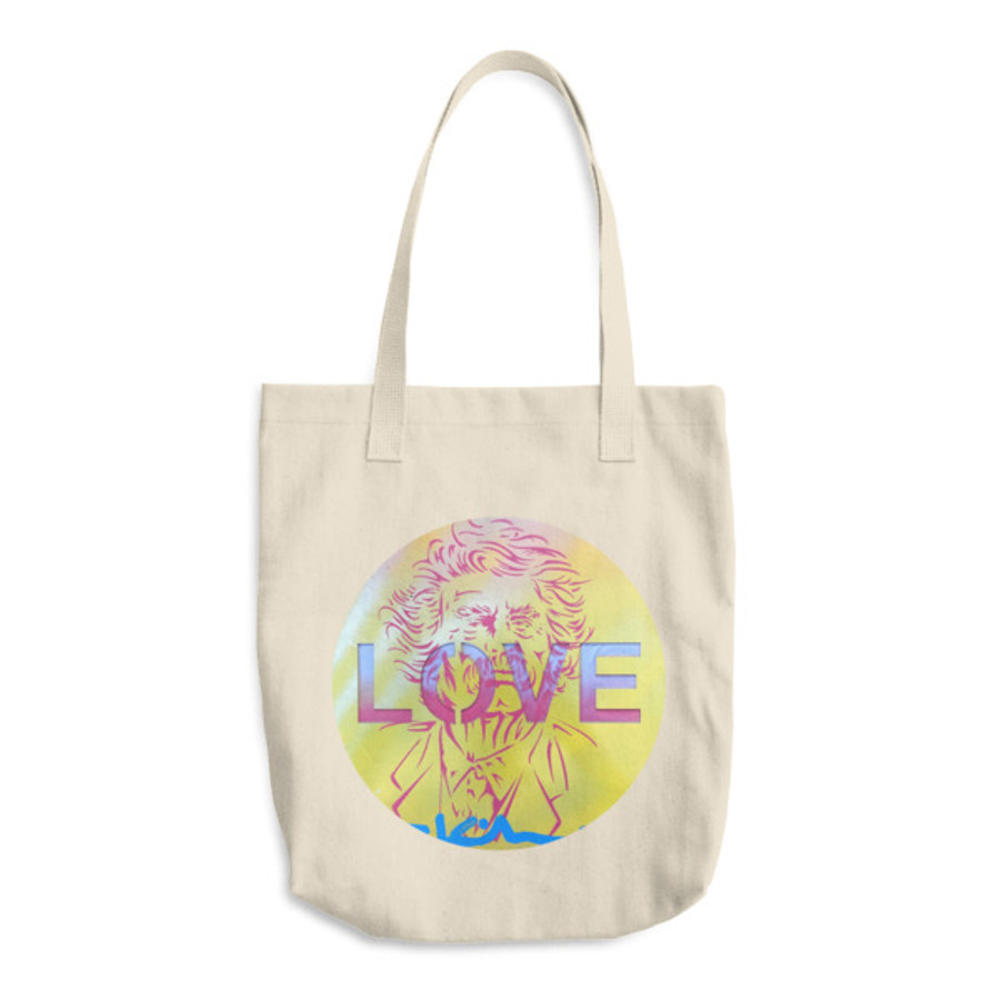 Mark Twain Love / Cotton Tote Bag