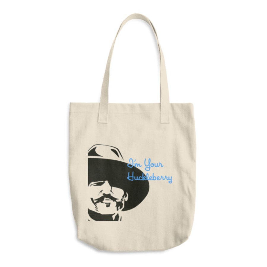 Doc 'Huckleberry' / Cotton Tote Bag