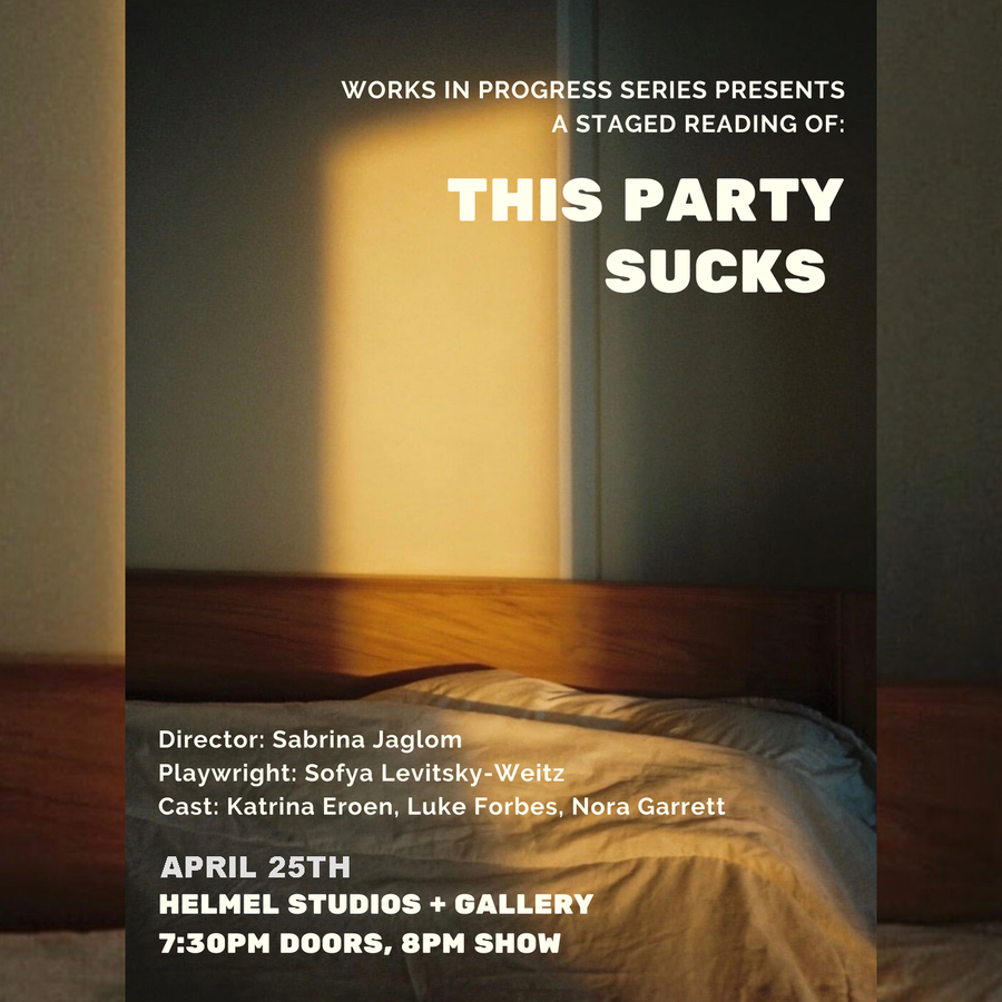 Staged reading: THIS PARTY SUCKS