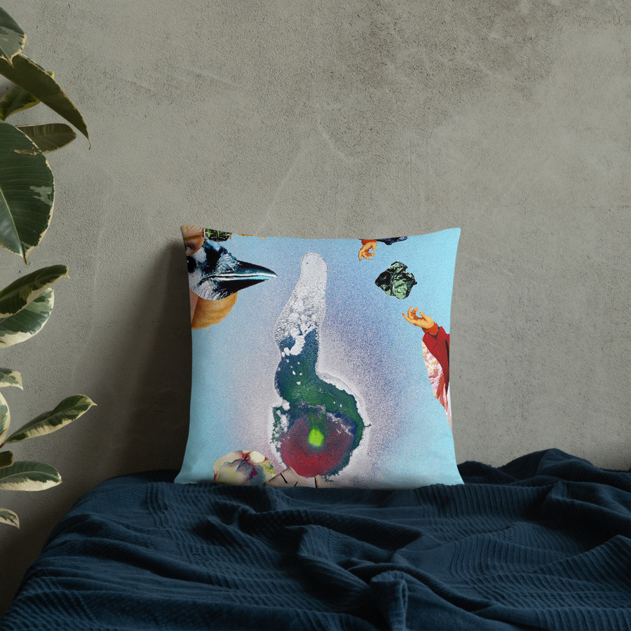 Val's Abstract  Pillow
