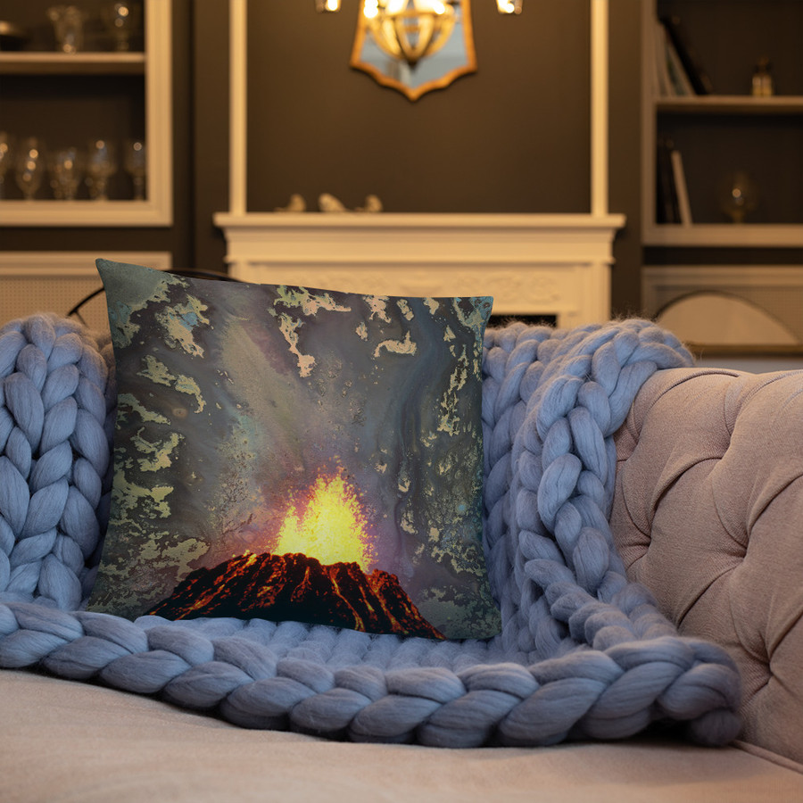 Val's Volcano Pillow