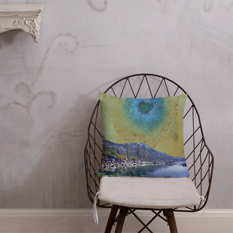 Crystal Cove Pillow