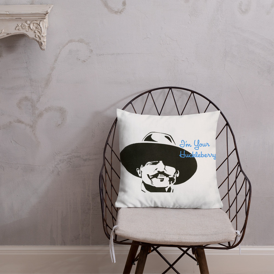 Huckleberry Pillow