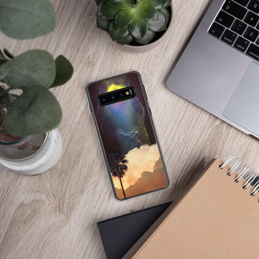 Midnight Palm Samsung Case