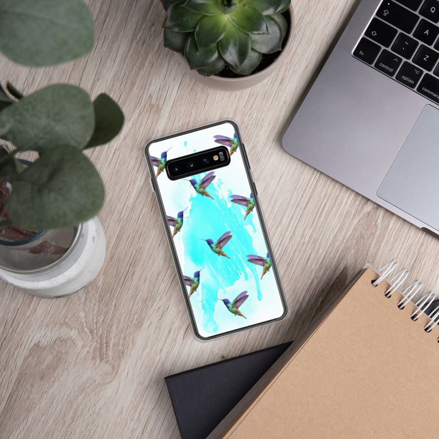 Hummingbird Tile Samsung Case
