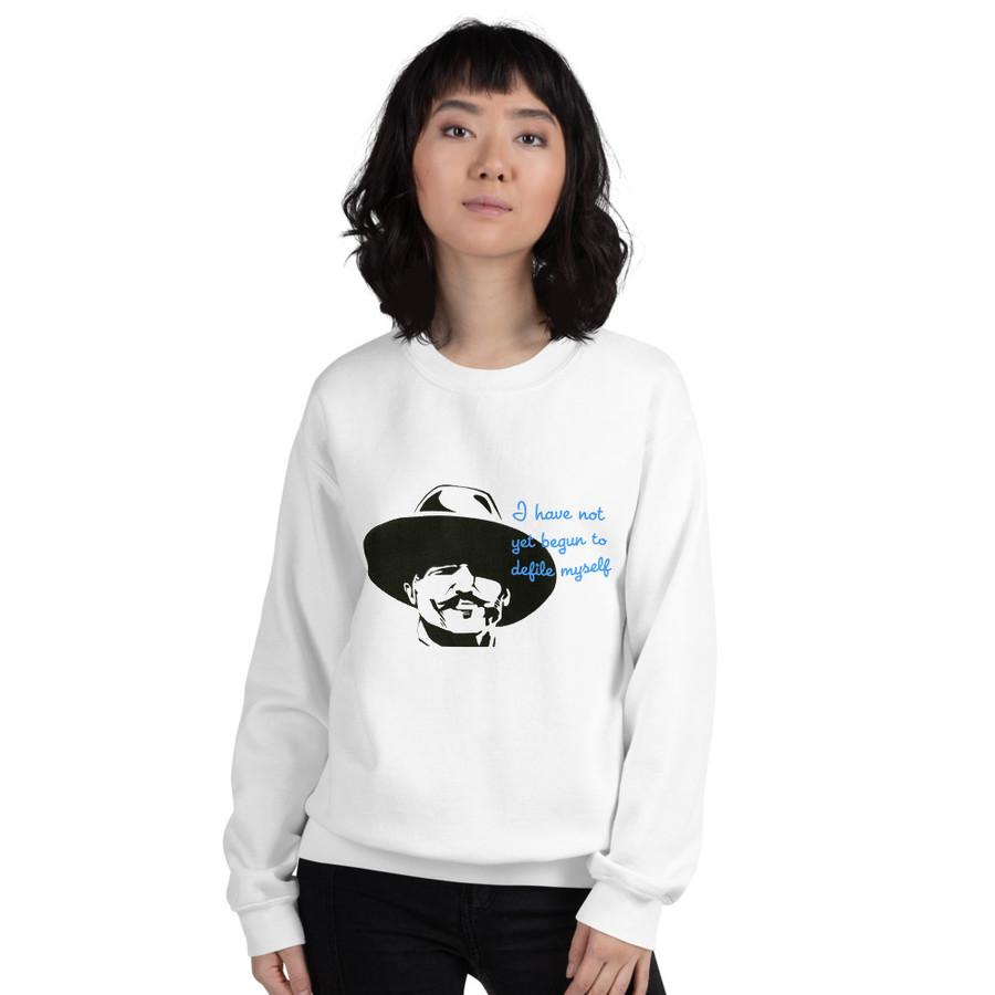 'I've Not Yet Begun...' Unisex Sweatshirt
