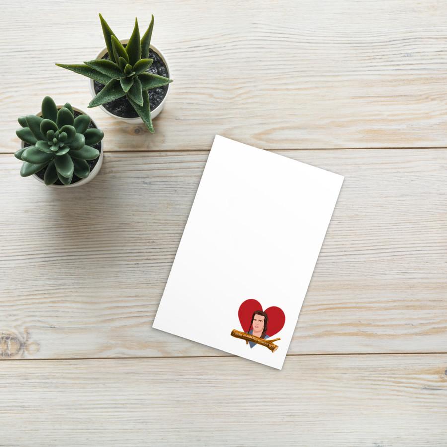 VALentine card / Willow