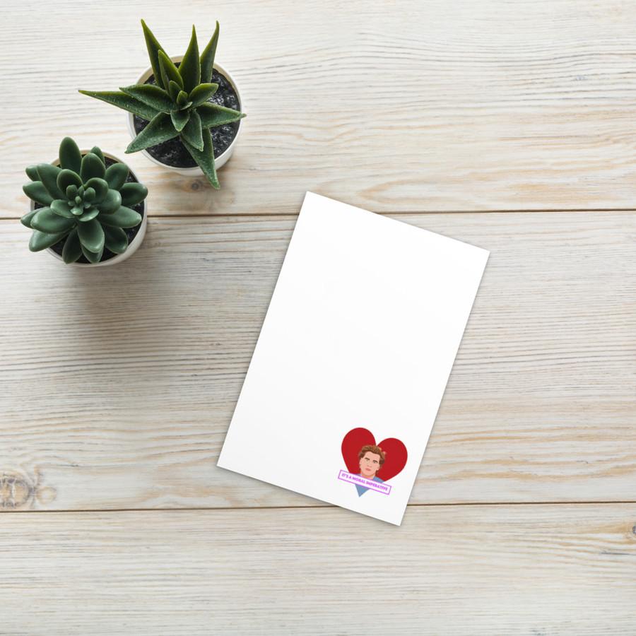 VALentine card / Real Genius