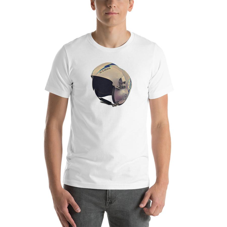Iceman Helmet / short sleeve unisex t-shirt