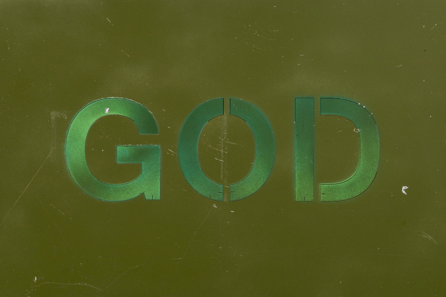 Print  - God 16