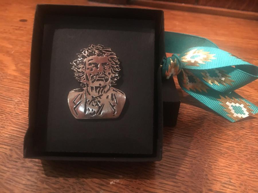 Mark Twain Pin