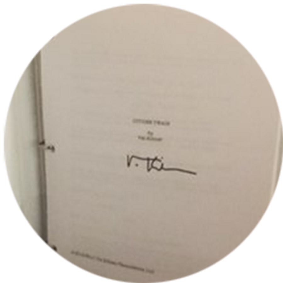 Citizen Twain Script by Val Kilmer (Signed)