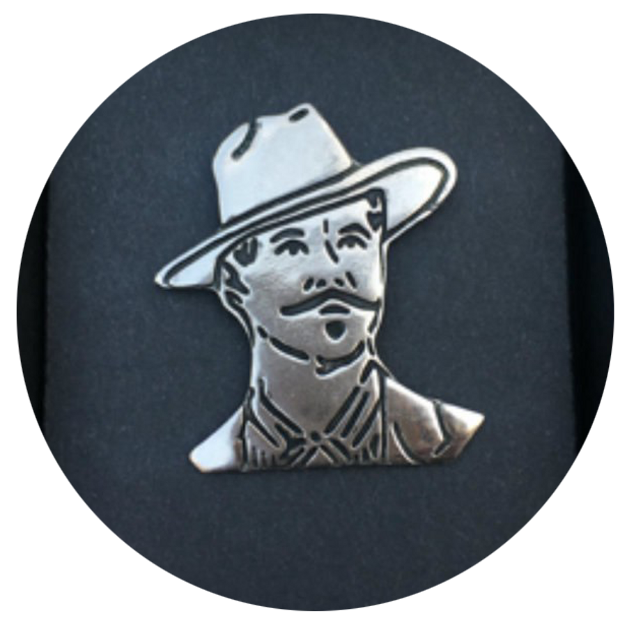 """Tombstone"" Doc Holliday Pin"