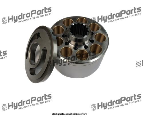 K3V112 # 014 CCW/LH Cylinder Block & Valve Plate Assembly