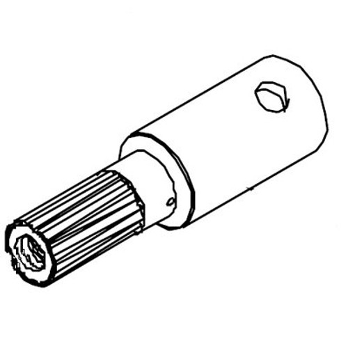 White 500 Series Shaft Assembly 500011101