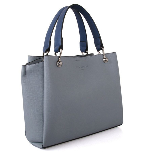 Blue grab bag with navy contrast