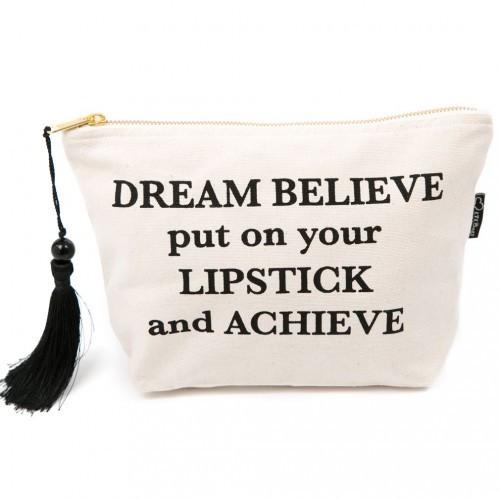 Dream believe make up bag