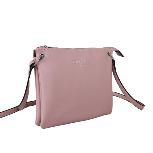 Pink Soft Crossbody Bag