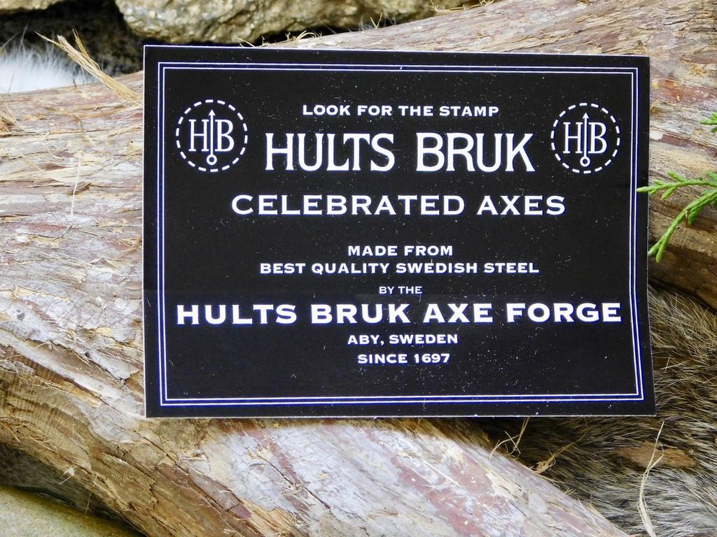 HULTS BRUK Hatchet - Aneby
