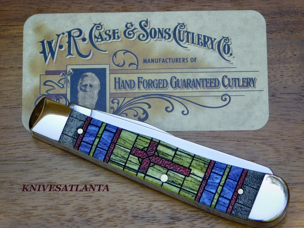 Case Stained Glass Trapper