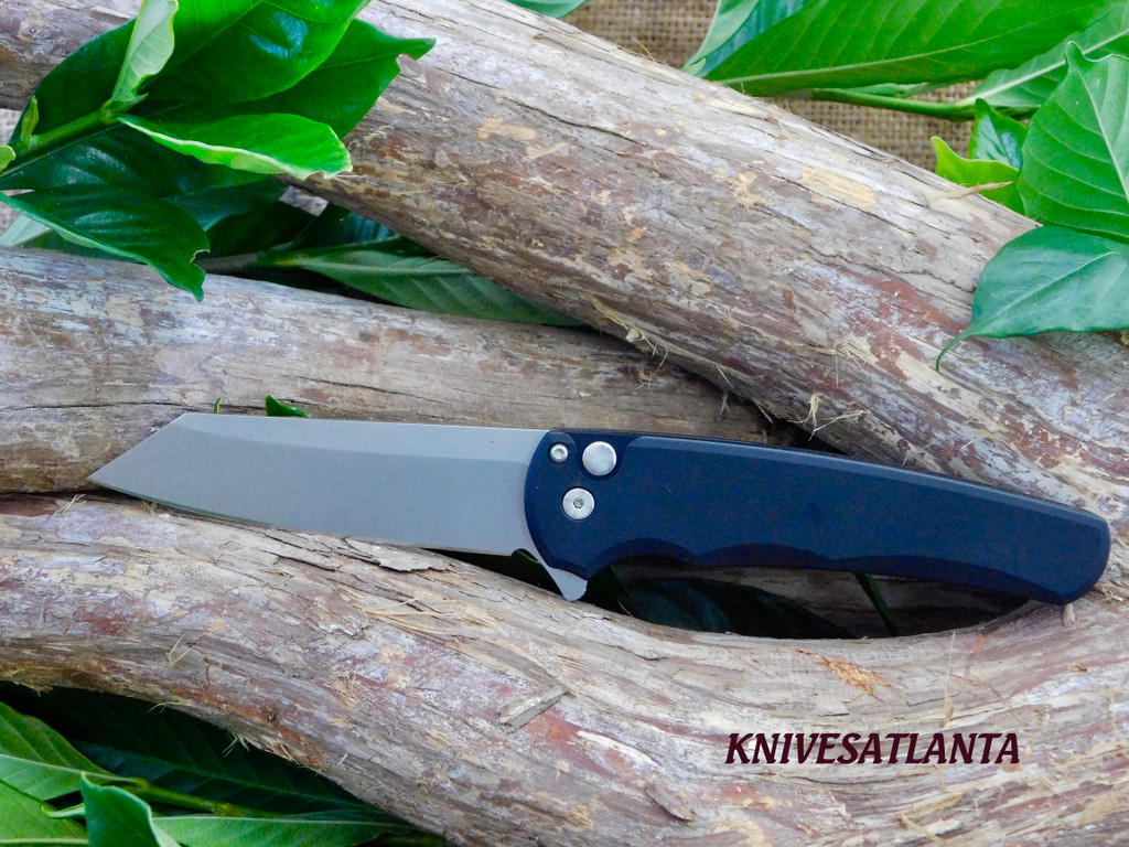 Protech Malibu  Reverse Tanto Blade / Button Lock Flipper/ 5201