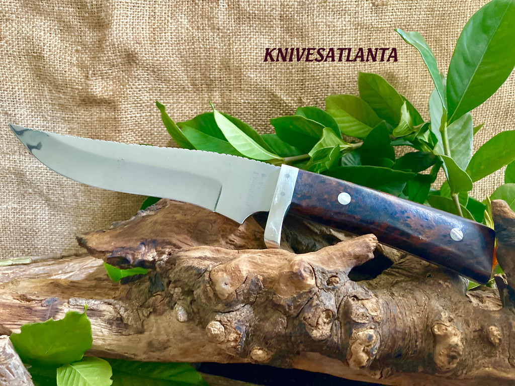 North & Prater Hunting Knife