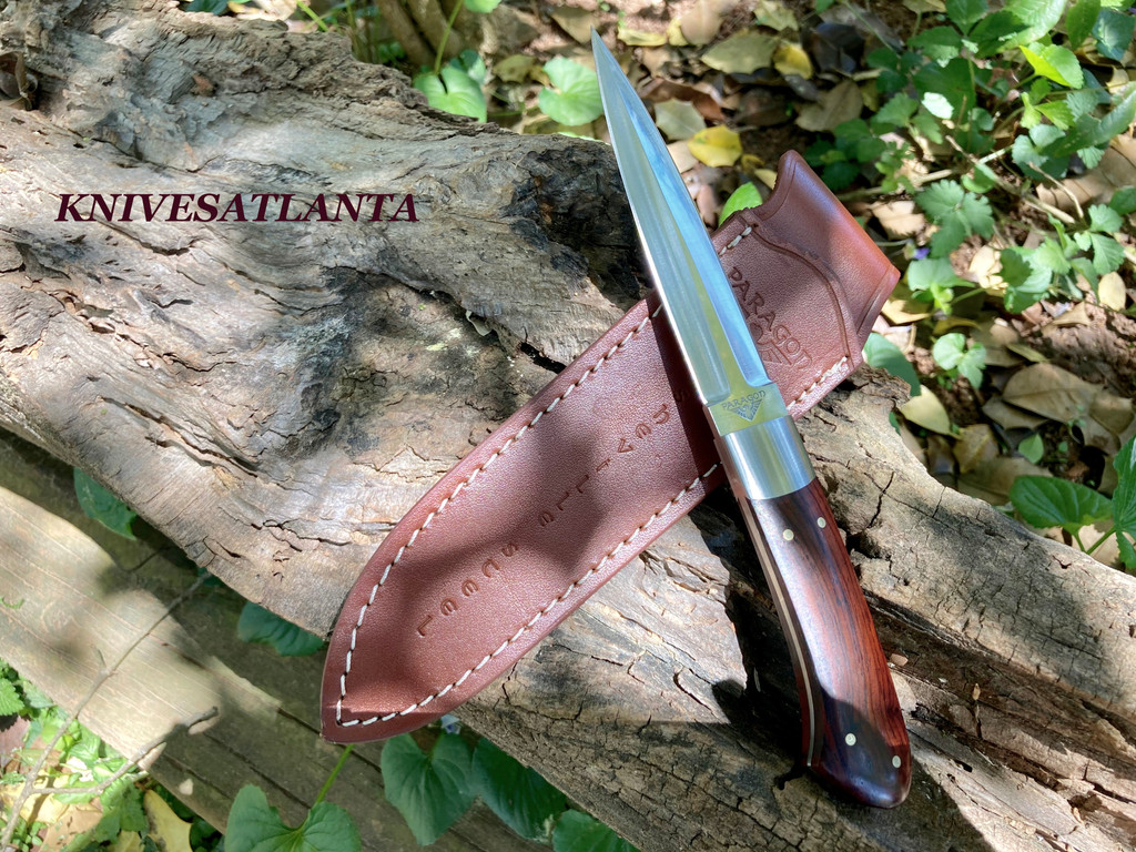 Paragon Tommy Lee Dagger Boot Knife (Cocobolo)
