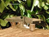 GREY WOLF BLADES Rams horn folder ( 16 )