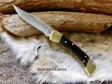 BUCK 110 Folding Hunter/Finger grooves